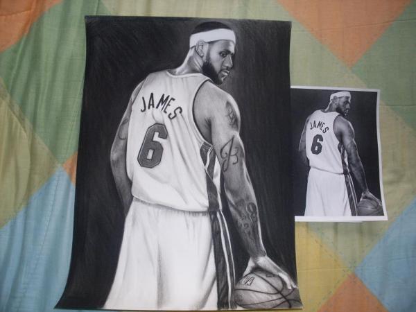LeBron James by Davidwey1987